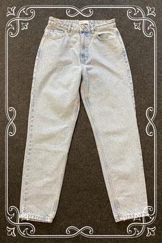 Stoere lichtblauwe jeans van Zara maat 38