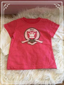 Roze met wit shirt v an Exit - maat 104