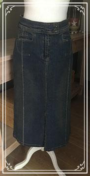 Spijkerrok met splitD - Maat 38