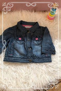 leuk blauw jeans jasje van noppies - maat 62