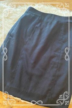 Donkerblauw rokje van de H&M - maat 34