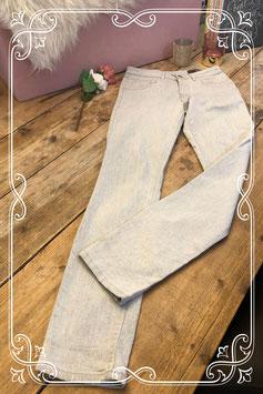 Jeans lichtgrijs van het Merk - Parami - Maat W27 L32 (S)