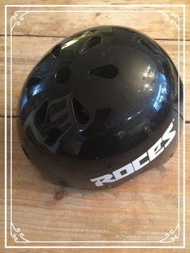 Zwarte helm van Roces - maat S