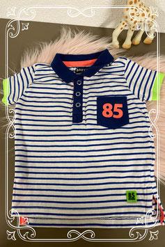 Leuke polo van Baby Club maat 68