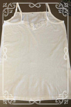 Net wit hemd maat XL