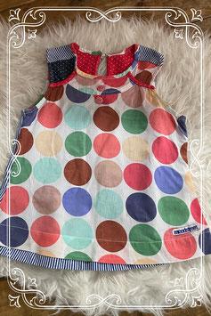 Kleurrijke printjes jurk van Moodstreet - Maat 122-128