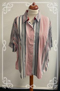 Nette gestreepte blouse van Glaser maat 52