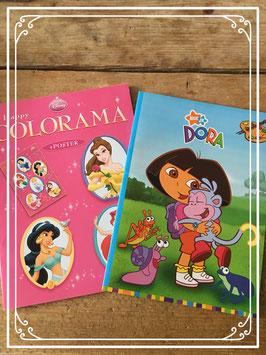 Prinsessen en Dora doeboekjes