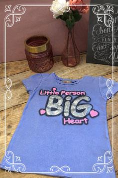 Lila kleurig shirt van Blue Queen-maat 122