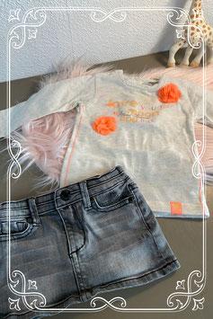 Tweedelig setje van de merken Dirkje en Retour Jeans - maat 74