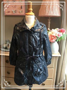Zwarte jdonkerblauwe jas van Persival - maat 140-146