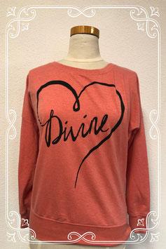 Roze trui met tekst van Only maat XS