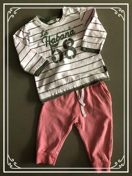 2 Delige set kleding roze - maat 68