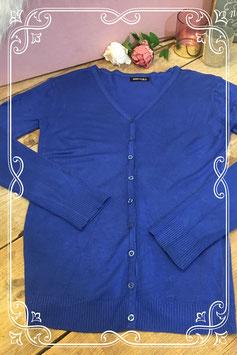 Kobalt blauw vestje van Miss Sara - maat s