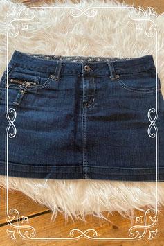 Donkerblauw jeans rokje van de Only - maat 36