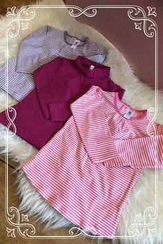 Set drie lange mouwen shirts van Babyclub - Maat 92