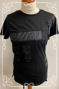 Stoer zwart shirt van Ashes to Dust maat S
