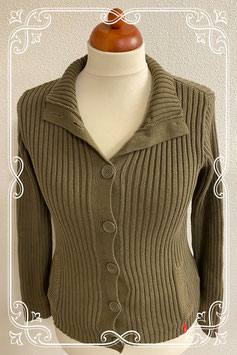 Nieuw! Comfortabel groen vest van Yessica maat L