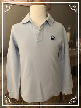Polo shirt merk Benneton - maat 122