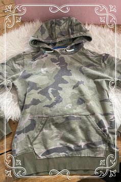 Stoere legerprint trui van Vingino - Maat 164