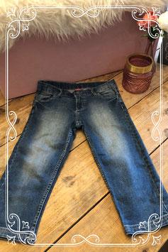 3/4 spijkerbroek van de HEMA - 158/164
