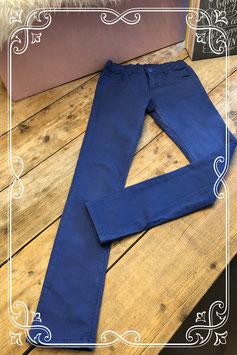Donkerblauwe broek van de HEMA - Maat 158