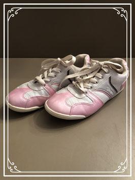 Zilver/roze schoenen - maat 35