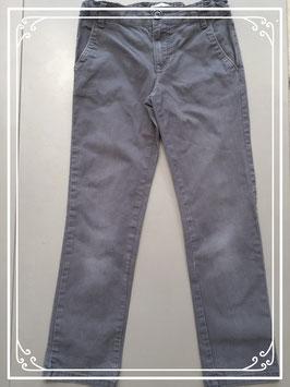 Donkergrijze broek van Hihawo - maat 128-134