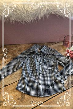 Geruite blouse van het merk Vingino - maat 104