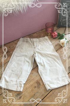 Crèmekleurige lange broek van Cherokee. - Maat 128