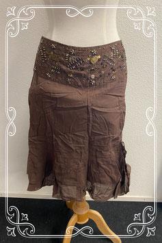 Mooie bruine rok van Vila maat L