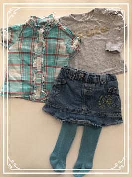 Complete chique kleding set - Maat 68