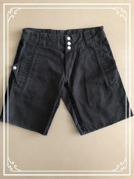 Zwarte korte broek merk Hema - maat 122-128
