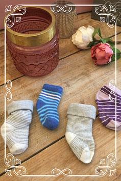 Set van 4 paar baby sokjes