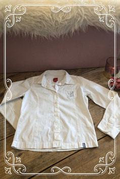 Witte blouse van het merk Esprit - maat 128-134