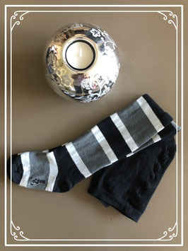 Maillot zwart/wit/grijs - maat 104