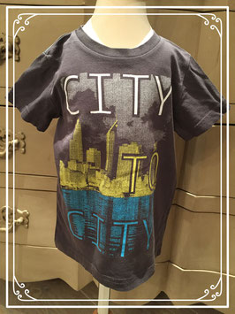 Donkergrijs T-shirt van WE - maat 92