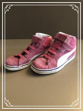Roze sneakers van Puma - Maat 35