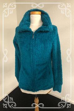 Blauw fluffy vest van Esmara maat S 36/38
