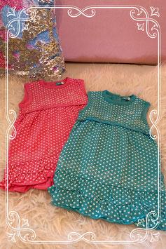 Twee jurkjes van het merk Lief! maat 80.