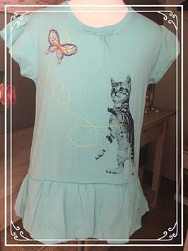 Lichtblauw kitten t-shirt van Persival -  Maat 152-158