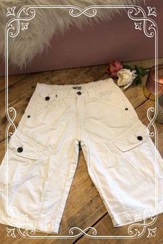 Witte korte broek van Mitch Division - Maat 140