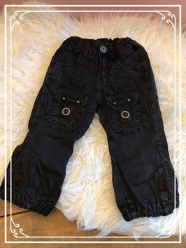 Zwarte broek van Carbone - Maat 86