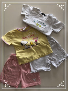 Snoopy set kleding - Maat 74