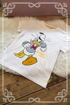 Wit t-shirt van Donald Duck van Disney - Maat 146-152