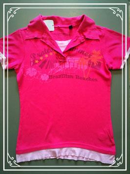Een roze T-shirt van Protest - maat 158-164