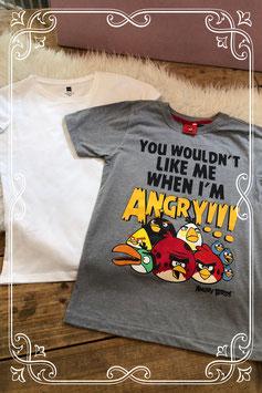 Set van twee leuke t-shirts - Maat 146-152