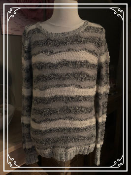 Grijze gestreepte trui van Revelation - Maat XS