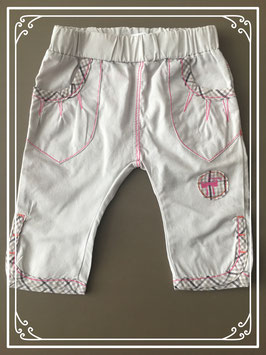 Crème kleurige broek van Noppies - Maat 50