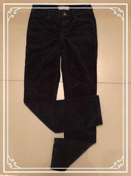 Zwarte ribstof broek C&A-maat 36